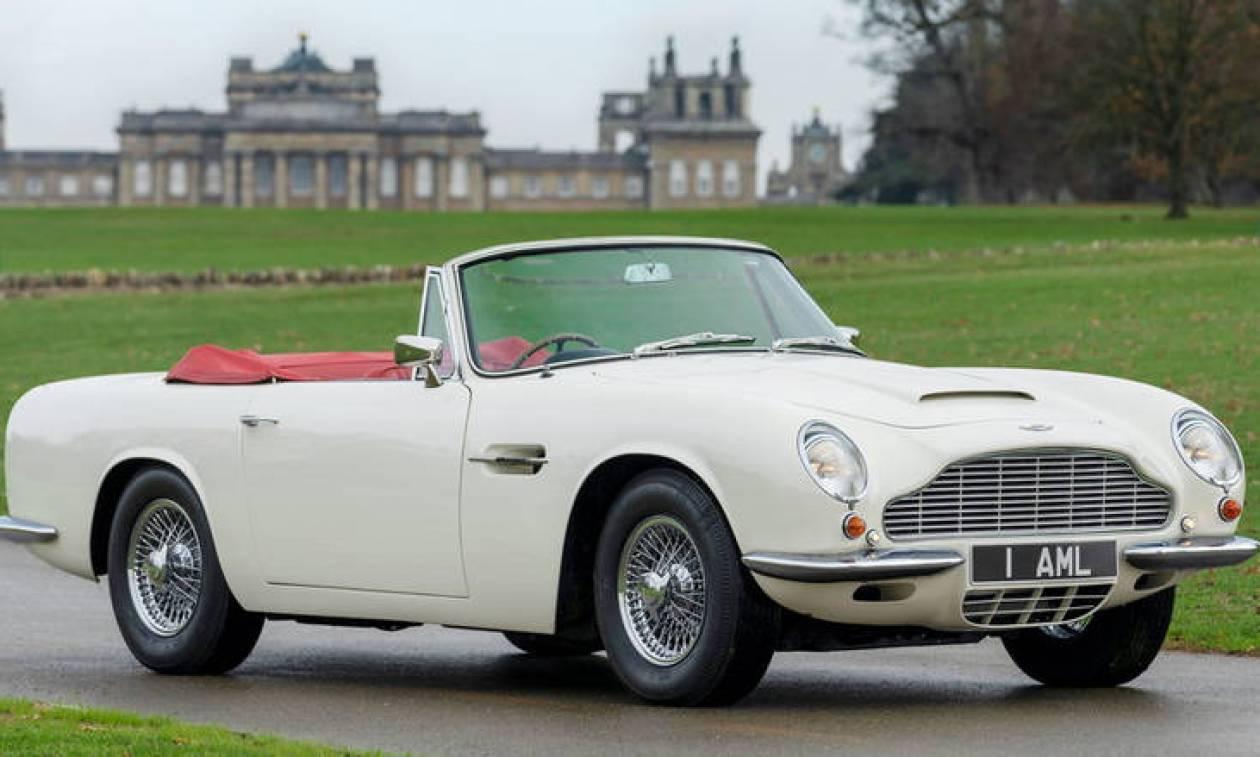 Η Aston Martin θέλει να κάνει τα κλασικά της μοντέλα ηλεκτρικά με μια ειδικά «κασέτα»