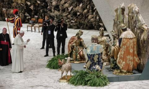 Χριστούγεννα 2018: Μια φάτνη από 720 τόνους άμμου στο Βατικανό! (vid)