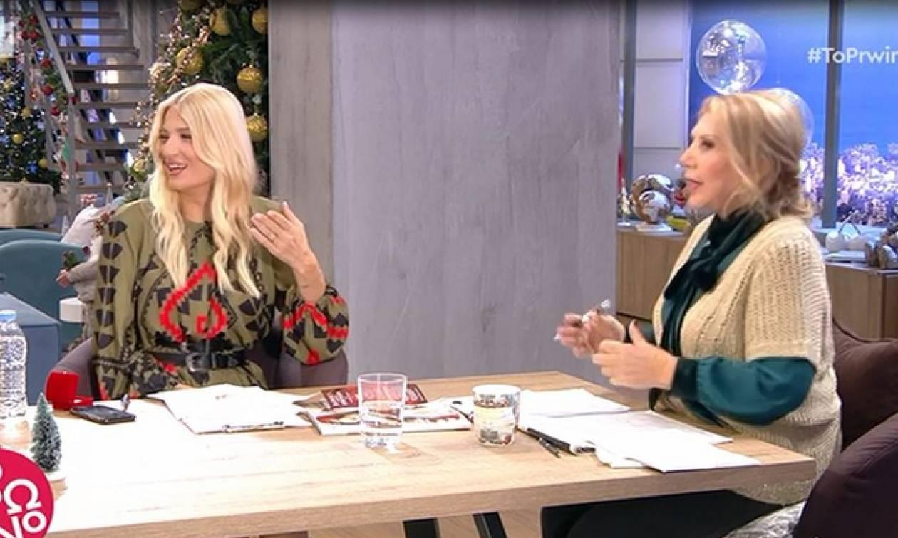 Κάγκελο η Λίτσα Πατέρα με το μονόπετρο της Φαίης Σκορδά – Η ατάκα on air!