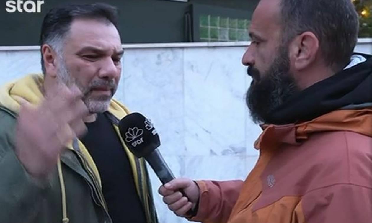 Γρηγόρης Αρναούτογλου: «Έμεινα κι εγώ άναυδος… Ήταν μία κακή στιγμή»