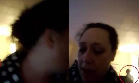 Κατέγραψε κάτι… παραφυσικό πίσω της ενώ μιλούσε με βιντεοκλήση! (vid)