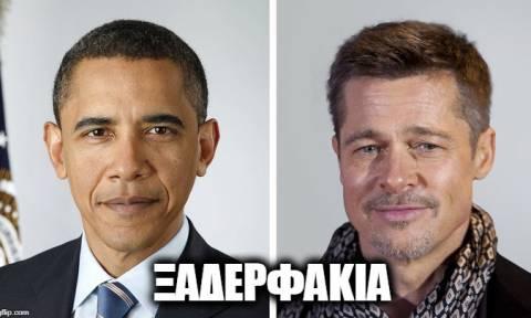 Απίστευτο: Με ποιον λευκό ηθοποιό είναι συγγενής ο Ομπάμα; (pics)