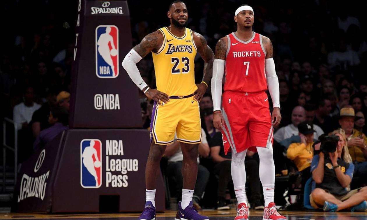 NBA: Ο Λεμπρόν θέλει μαζί του τον Καρμέλο!