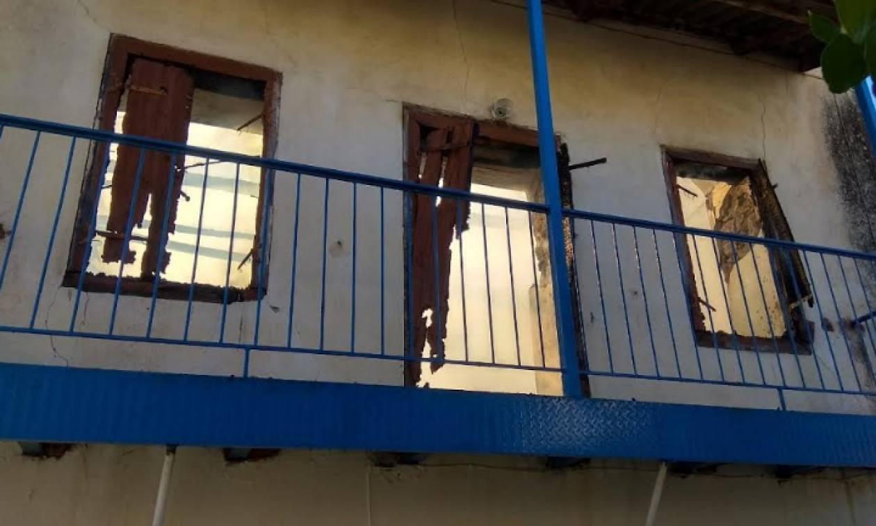 Μεσσηνία: Κάηκε ολοσχερώς σπίτι τετραμελούς οικογένειας (pics)