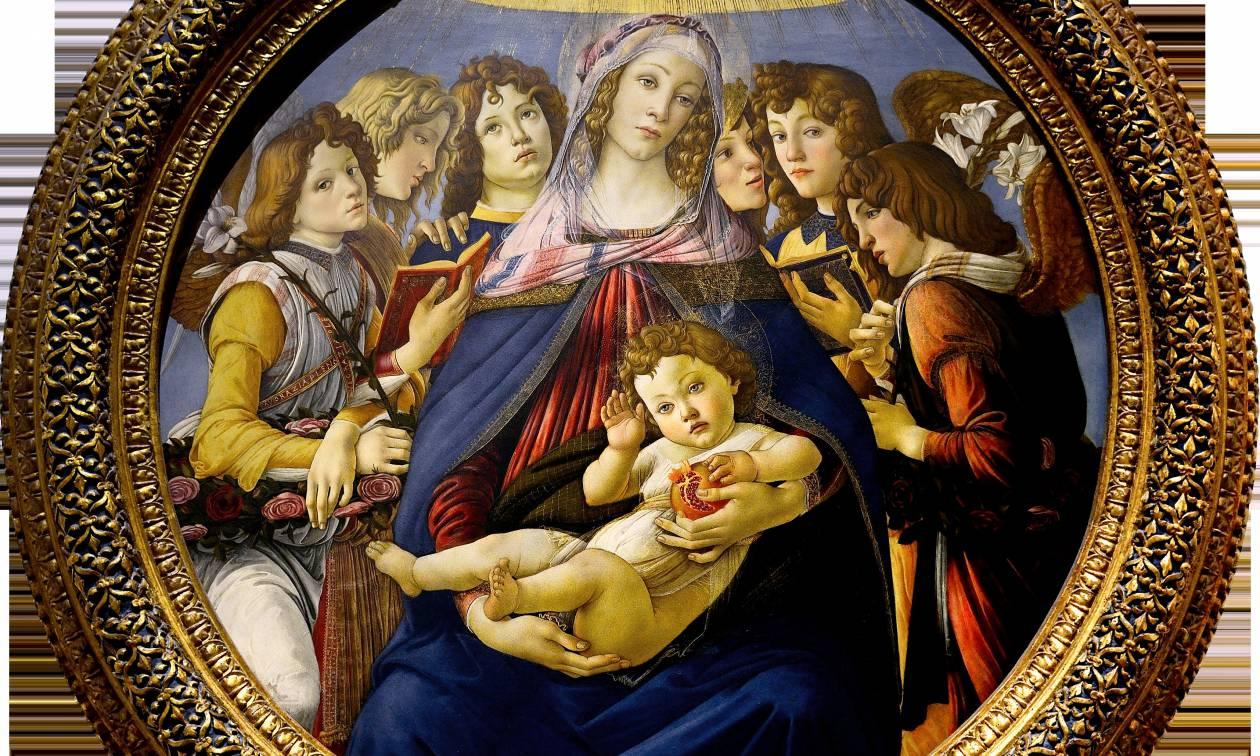 Δεν πίστευε στα μάτια του: Δείτε τι ανακάλυψε ότι κρατά ο Ιησούς σε διάσημο πίνακα του Μποτιτσέλι