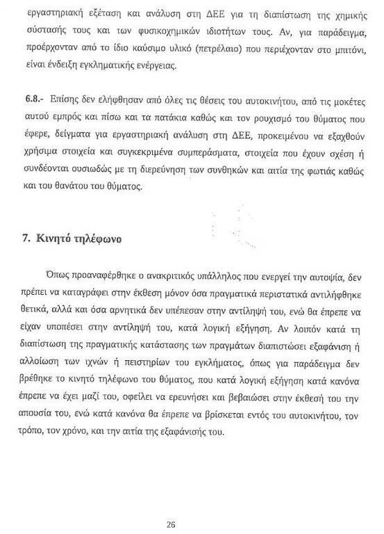Ειρήνη Λαγούδη: Έγγραφα - «φωτιά» ρίχνουν φως στη δολοφονία της 44χρονης (pics)