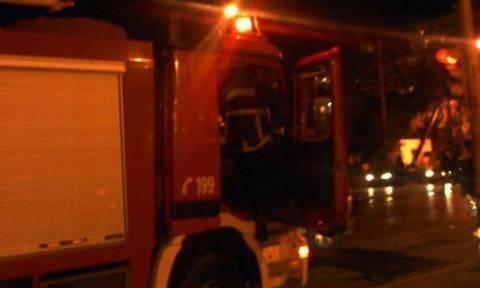 Λάρισα: Διαμέρισμα τυλίχθηκε στις φλόγες