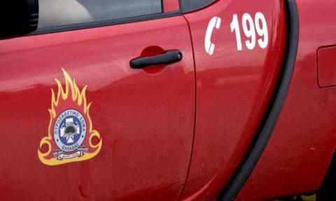 Ρόδος: Μεγάλη φωτιά σε ραδιοφωνικό σταθμό (pics)