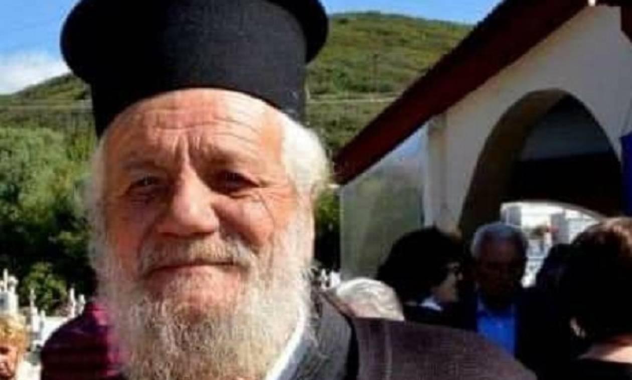 Ναύπακτος: Πέθανε ο ιερέας που παρασύρθηκε από αγροτικό