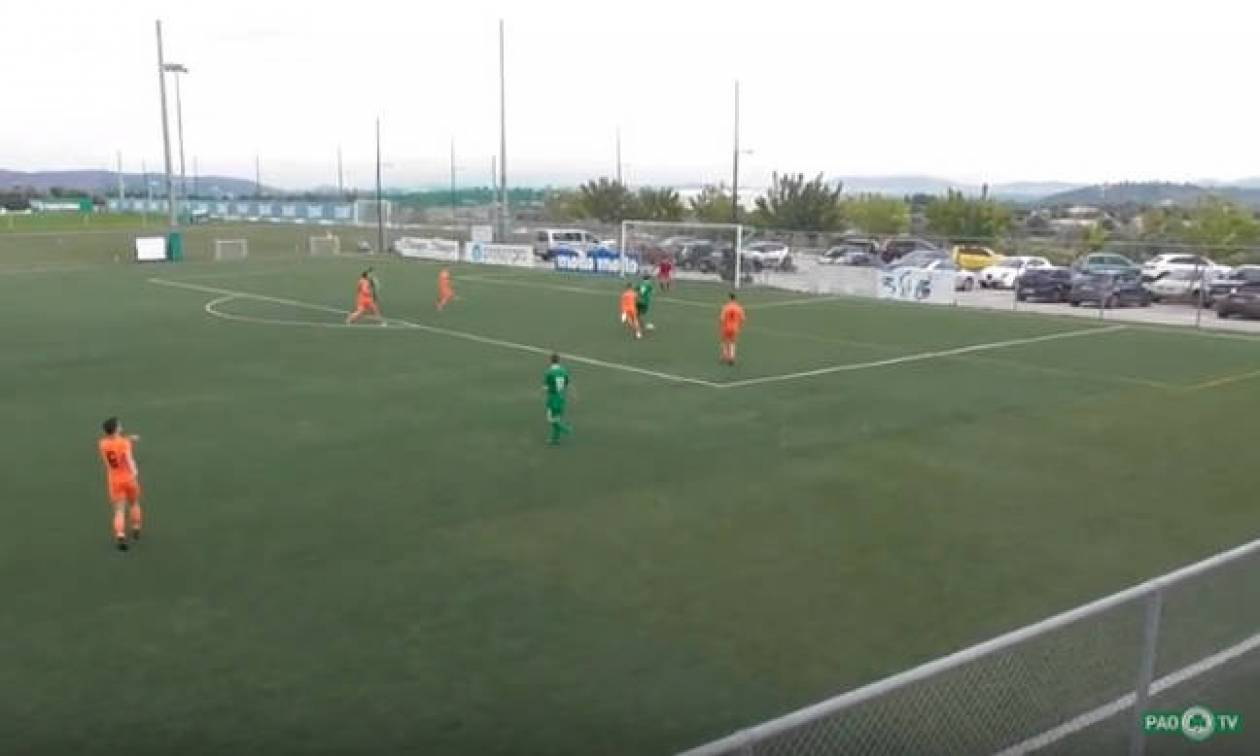 Το απόλυτο fair play από την Κ15 του Παναθηναϊκού (video)