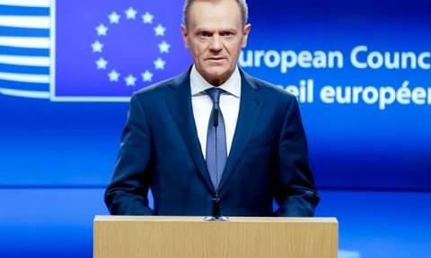 Ντ. Τουσκ: Έκτακτη σύνοδος για το Brexit την Πέμπτη
