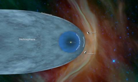 Δέος: Tο σκάφος Voyager 2 της NASA εισήλθε στο διαστρικό χώρο (video)