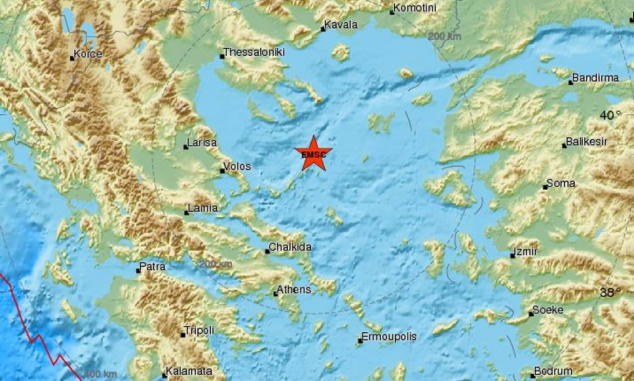 Σεισμός: Διπλή σεισμική δόνηση στο Βόρειο Αιγαίο (pics)