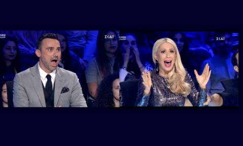 «Ελλάδα έχεις ταλέντο»: Ο Καπουτζίδης έμεινε άφωνος και η Μπακοδήμου ούρλιαζε με αυτό που είδαν