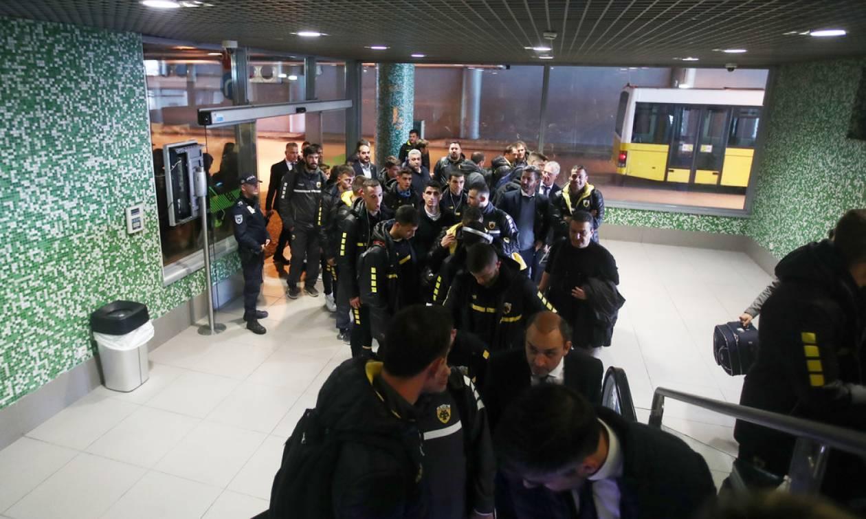 Στην Πορτογαλία η ΑΕΚ για το τελευταίο ματς στο Champions League (photos)