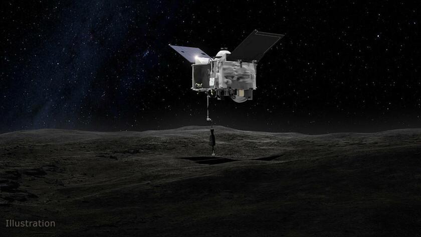 Συγκλονιστική ανακάλυψη: Το Osiris-REx της NASA ανακάλυψε νερό σε κινούμενο αστεροειδή (Pics+Vid)