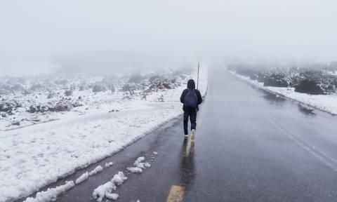 Καιρός – Ο Καλλιάνος προειδοποιεί για νέα κακοκαιρία με βροχές και χιόνια - Πού θα χτυπήσει (ΧΑΡΤΗΣ)