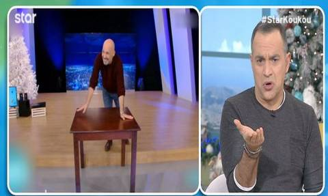 Τρελό γέλιο! Καραβάτου - Κατσούλης απάντησαν στην πρόκληση του Μουτσινά και δείτε τι έκαναν on air!