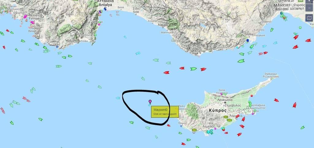 Που στέλνει η Άγκυρα το Barbaros - Δείτε χάρτες