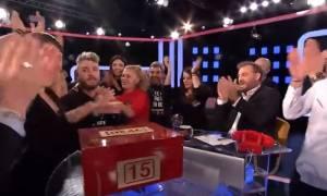 Deal: Δείτε το αστρονομικό ποσό που κέρδισε παίκτης - Η αντίδραση του Χρήστου Φερεντίνου