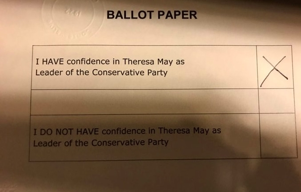 ballot paper 1