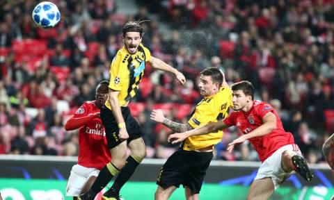 Μπενφίκα – ΑΕΚ 1-0: Πικρό φινάλε στο Champions League… (photos)