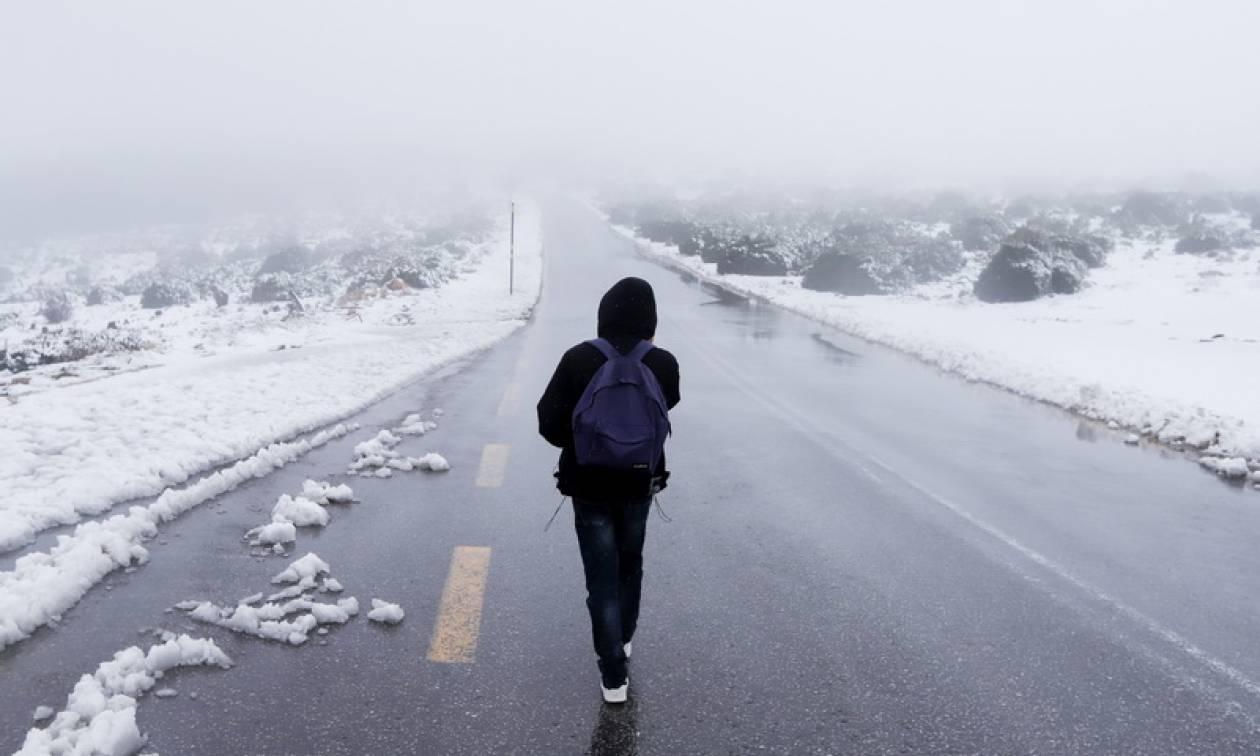 «Αγριεύει» ο καιρός: Με καταιγίδες και κρύο η Πέμπτη - Χιονοπτώσεις σε αρκετές περιοχές (pics)