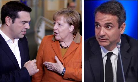 Αποκλειστικό Newsbomb.gr: Ο Τσίπρας «κάρφωσε» τον Μητσοτάκη στη Μέρκελ για τις Πρέσπες