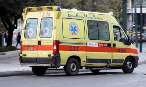 Χανιά: Σοβαρό τροχαίο ΙΧ με μηχανή - Τον παράτησε αιμόφυρτο στον δρόμο (pic)