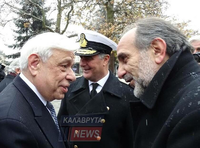 Παυλόπουλος από Καλάβρυτα: Νομικώς ενεργές οι ελληνικές απαιτήσεις για το κατοχικό δάνειο (pics)