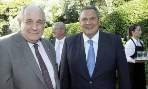 Ο Καμμένος έδιωξε τον Τέρενς Κουίκ από τους Ανεξάρτητους Έλληνες