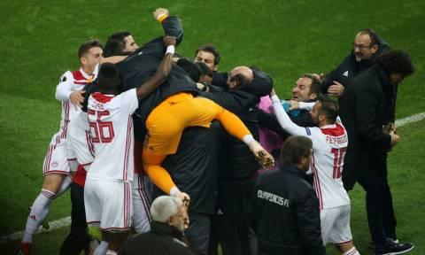 Ιστορικός θρίαμβος του Ολυμπιακού, 3-1 τη Μίλαν και πρόκριση στο Europa League