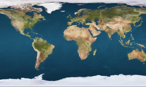 Πώς θα είναι η Ελλάδα όταν λιώσουν οι πάγοι; Δείτε τον χάρτη!
