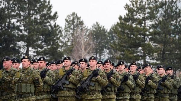 kosovo armee militaer