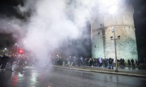 Ένταση στη Θεσσαλονίκη: Προσαγωγές, face control και τηλεφώνημα για βόμβα πριν από την ομιλία Τσίπρα