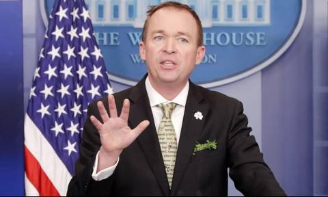 ΗΠΑ: Ο Μικ Μαλβέινι υπηρεσιακός προσωπάρχης του Λευκού Οίκου