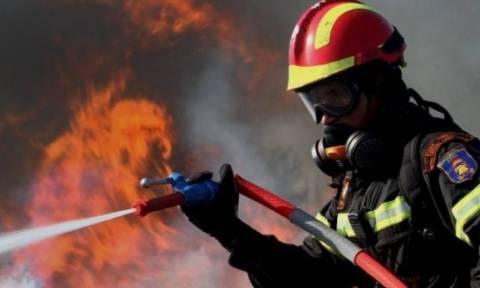 Χανιά: Άγιο είχε 70χρονη - Σώθηκε βγαίνοντας από φλεγόμενο σπίτι