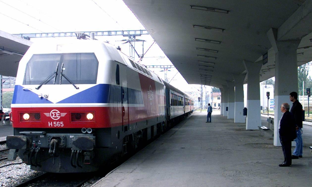 ΤΡΑΙΝΟΣΕ: Καθυστερήσεις στη γραμμή Αθήνα - Θεσσαλονίκη