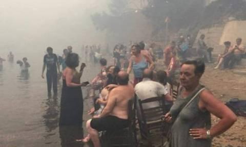 Φωτιά Μάτι: Το 100ο θύμα της φονικής πυρκαγιάς κάηκε ενώ προστάτευε με το σώμα του τον εγγονό του