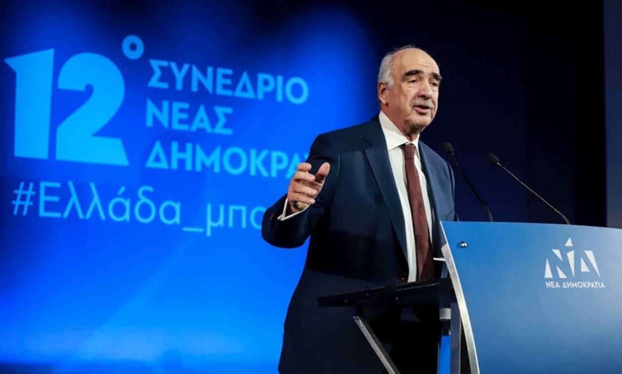 Ο Μεϊμαράκης επικεφαλής του ψηφοδελτίου της ΝΔ στις ευρωεκλογές