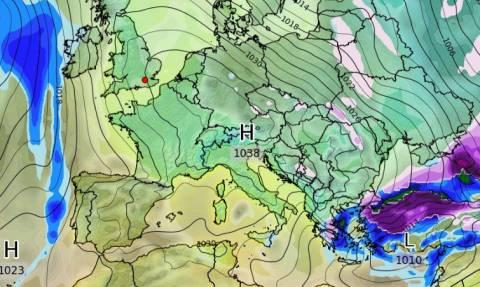 Νέα στοιχεία για τον καιρό: Λιακάδα τα Χριστούγεννα, κρύο και χιόνια παραμονή Πρωτοχρονιάς (video)
