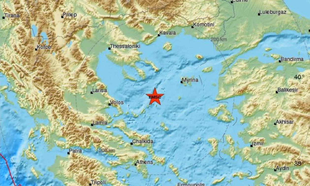 Σεισμός: Νέα διπλή σεισμική δόνηση στο Βόρειο Αιγαίο (pics)