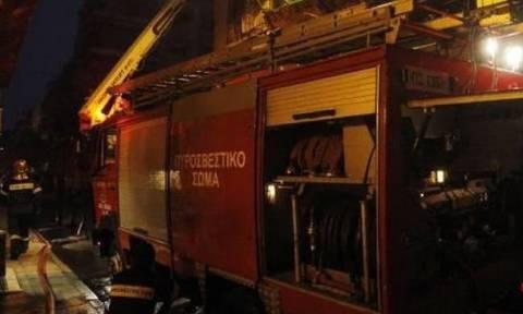 Φωτιά στη Θεσσαλονίκη: Στις φλόγες διαμέρισμα στους Αμπελόκηπους