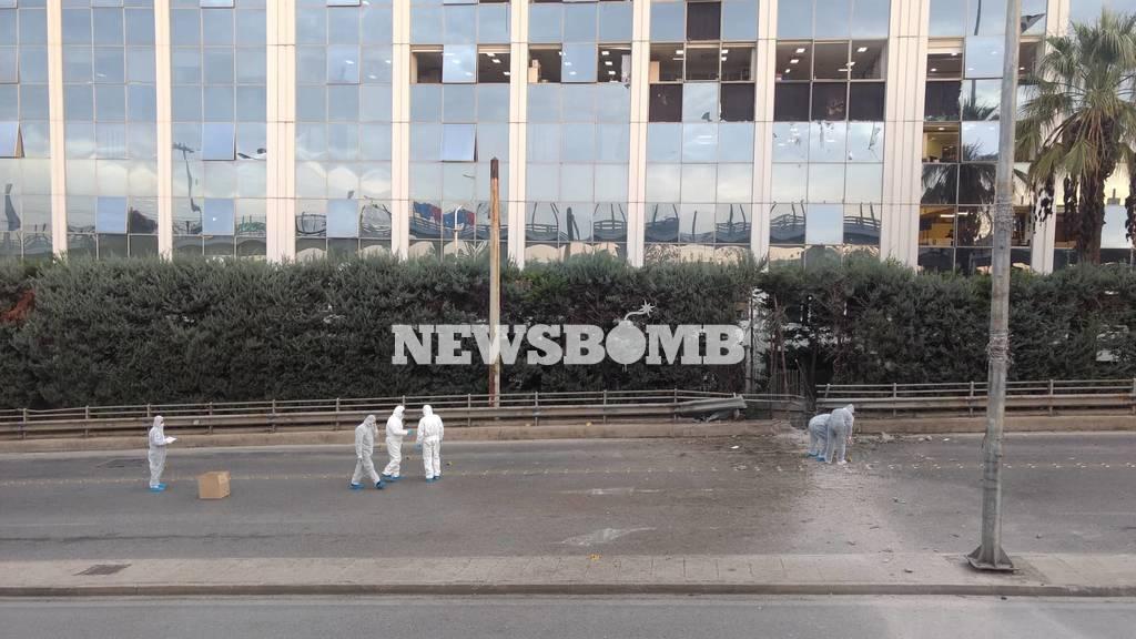 ΤΩΡΑ: Έκρηξη βόμβας στα γραφεία του ΣΚΑΪ