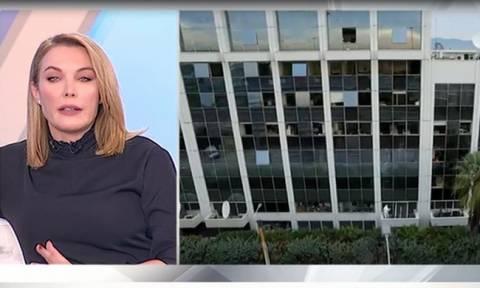 Τατιάνα Στεφανίδου: Το μήνυμά της on air μετά την τρομοκρατική επίθεση στον ΣΚΑΪ