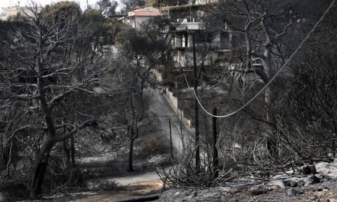 Φονική πυρκαγιά στο Μάτι: Tο τελευταίο αντίο στον «παππού - ήρωα» (vid)