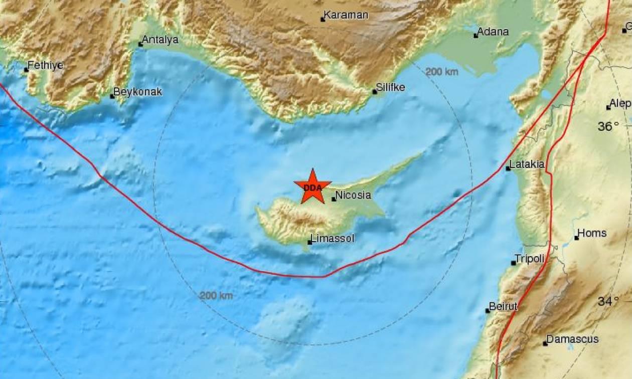 Σεισμός ΤΩΡΑ στην Κύπρο - Αισθητός σε αρκετές περιοχές