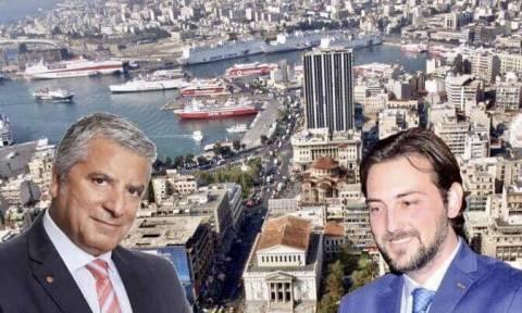 Ο Σαράντος Ευσταθόπουλος με τον Πατούλη στην Περιφέρεια Αττικής