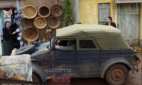 Συγκλονιστικές εικόνες στο Σοποτό - Γυρίσματα ταινίας με θέμα το Καλαβρυτινό Ολοκαύτωμα (pics)