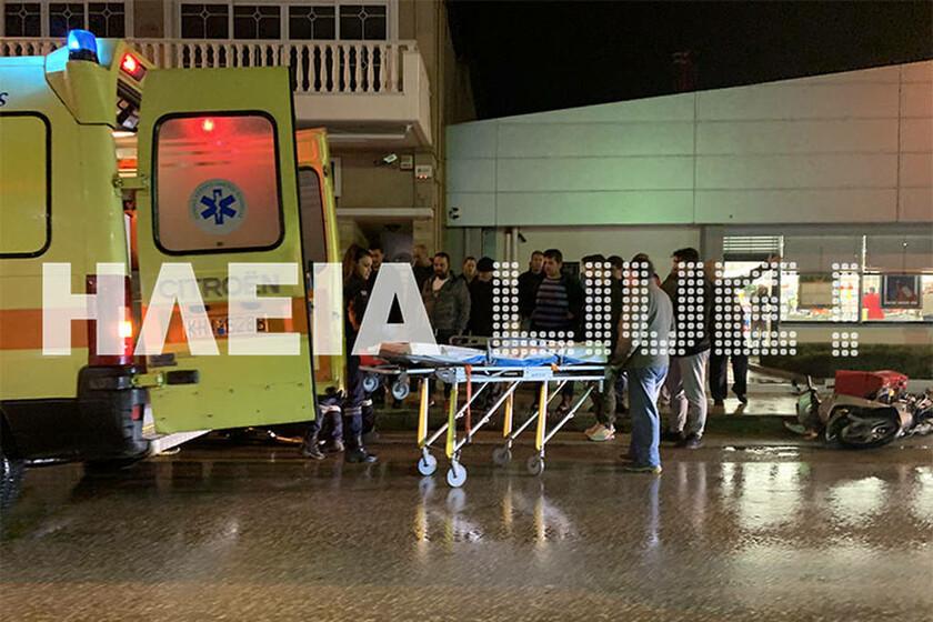 Πύργος: Ωρες αγωνίας - Στο νοσοκομείο με σοβαρά τραύματα ένας ηλικιωμένος (pics)